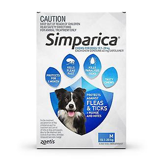 Simparica for Dogs 10-20 kg (22.1-44 lbs) - 3 Pack