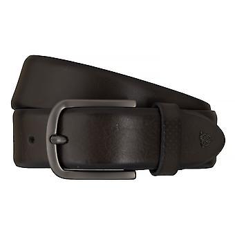 ROY ROBSON belts men's belts leather belt grey 7618