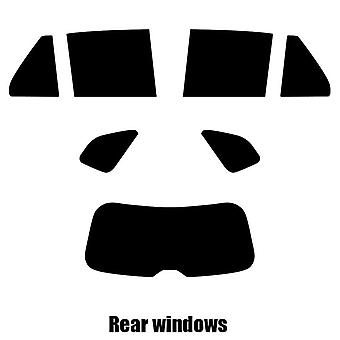 Pre gesneden venster tint - Kia Carens 5-deurs Hatchback - 2008 tot en met 2013 - achter windows
