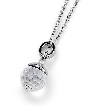 Oliver Weber Pendant Ball Rhodium Crystal