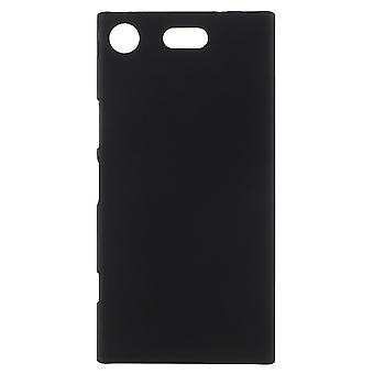 Sony Xperia XZ1 compact rubberized shell-zwart