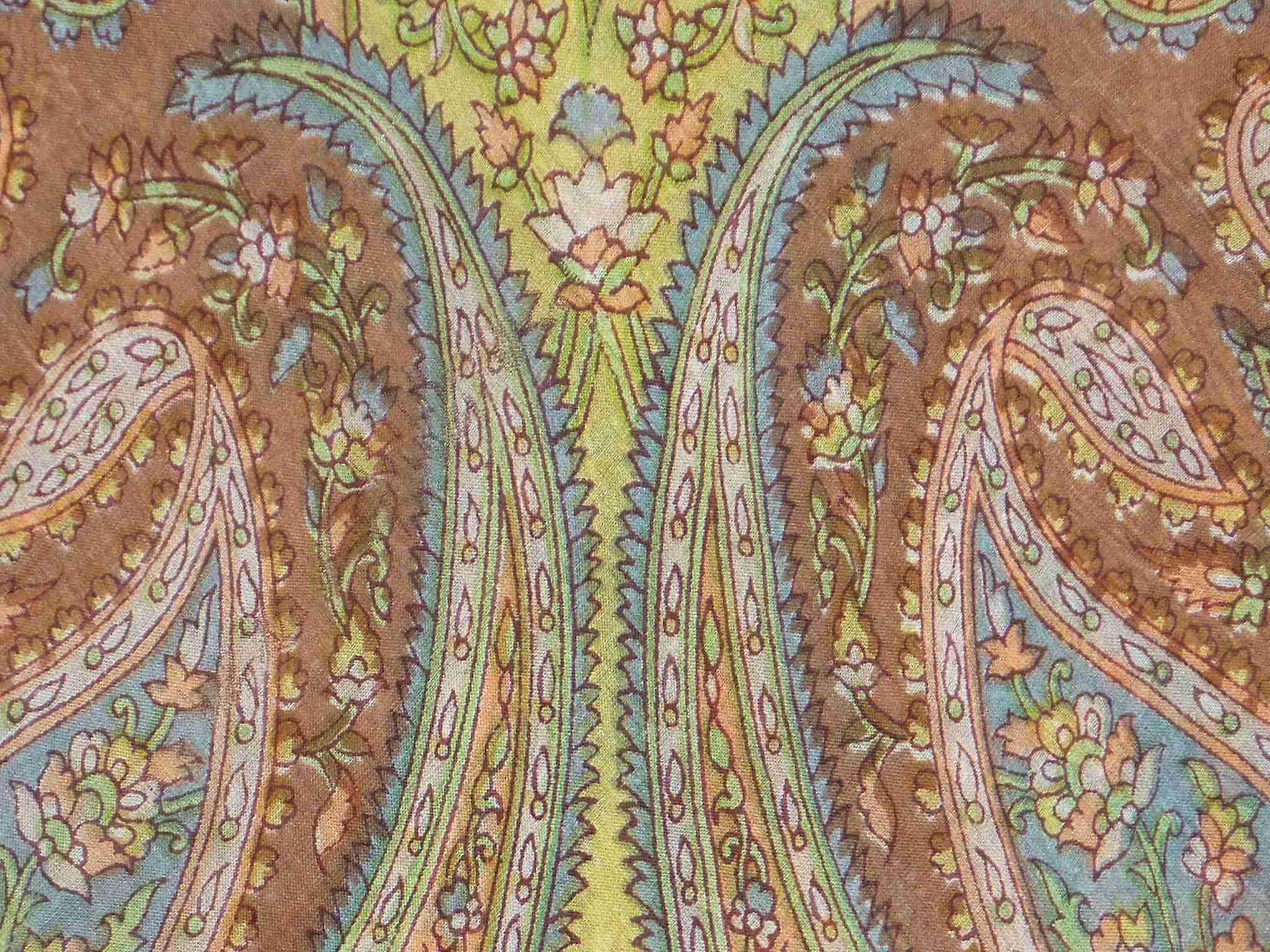 Mulberry Silk Traditional Square Scarf Raki Ecru by Pashmina & Silk