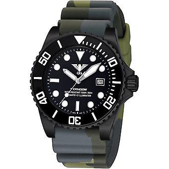 KHS heren horloge KHS. TYBSA. DC3 Automatic, duiker horloge