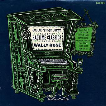 Wally Rose - Ragtime Classics [Vinyl] USA import