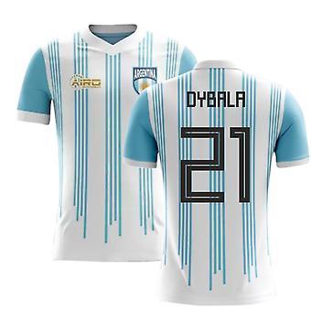 2020-2021 Argentina Home Concept Fodbold trøje (Dybala 21)