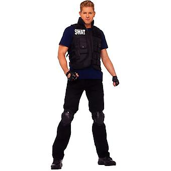 SWAT commandant adulte Costume