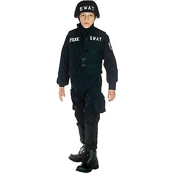 Swat Police Officer Child Costume