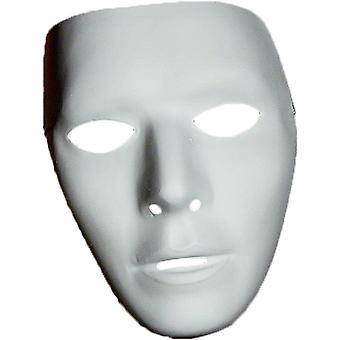 Blank Male Mask For Adults