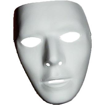 Lege mannelijke masker voor volwassenen