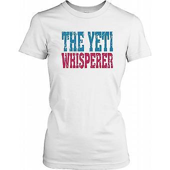 O encantador de Yeti - conspiração feminina T-Shirt