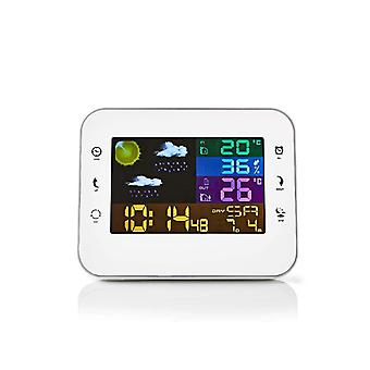 Wireless weather station and clock with Alarm 402WT
