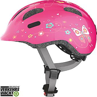 Abus Smiley 2.0 Kinder-Fahrradhelm // pink butterfly