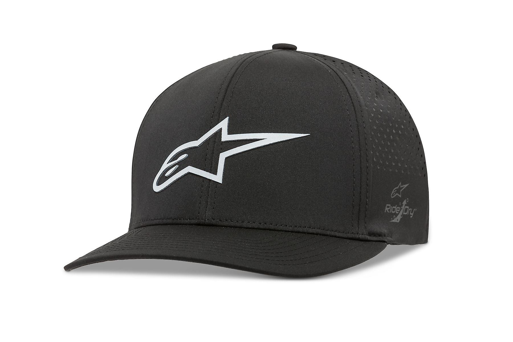 Alpinestars Mens Lazer Tech Curve Cap ~ Ageless black