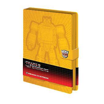 Transformatoren hommel A5 Premium gebonden notebook