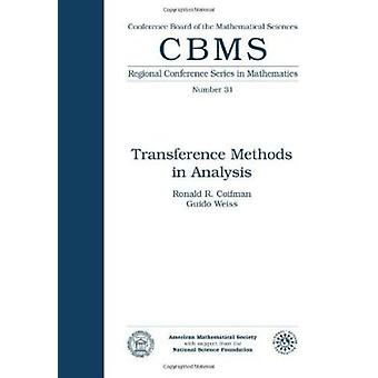 Transference Methods in Analysis by Ronald R. Coifman - Guido Weiss -