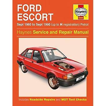 Ford Escort (Petrol) Service and Repair Manual - 9780857337085 Book