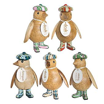 DCUK Emperor Penguin Baby Tartan Hat (Set of 5)