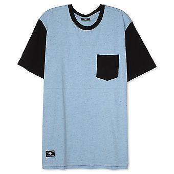 LRG maalarit Pocket Knit T-paita Dusk Blue Heather