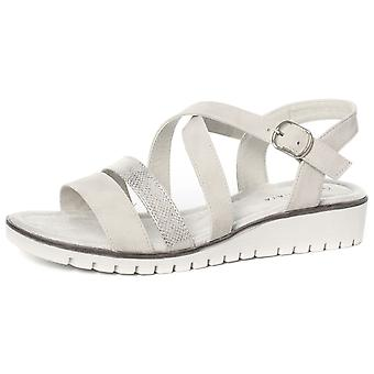 Cipriata Flavia Womens Crossover Buckle Sandals  AND COLOURS