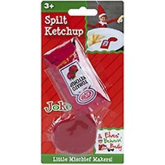 Alver Behavin stygt-spilt ketchup-standard Naughty Elf spøk