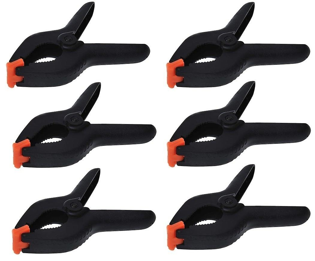 Spring Clamps - 6 Pieces Clamps 6 /158mm Set of 6 Spring Clamp ( Large )