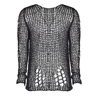 Punk Rave Black Ruin Sweater