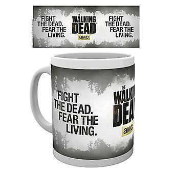 Morti che camminano combattere la tazza bere morto