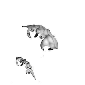 Krallen - Panzerung vergoldet - Zinn Finger kralle
