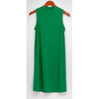 Women with Control Dress Regular Como Jersey Swing Green A301367