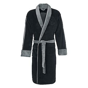 Star Wars Darth Vader Grey Trim Fleece Bathrobe
