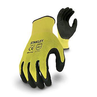 Stanley Unisex Hiviz Gripper Glove Yellow/Black