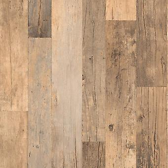 Brown Wood Wallpaper Antique Boards Planks Grey Textured Paste Wall Vinyl Rasch