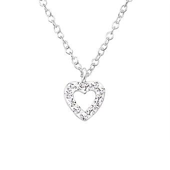 Heart - 925 Sterling Silver Necklaces - W24741X