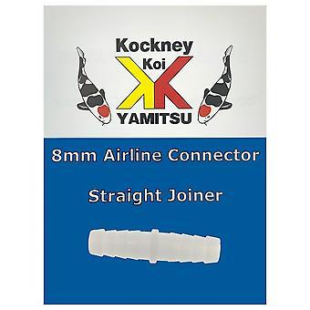 Kockney Koi 8mm Airline Connector - Straight Joiner