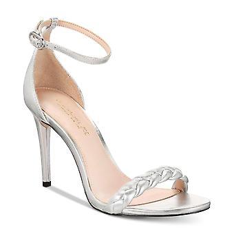 Rachel Zoe Womens Ella Leather Open Toe Formal Ankle Strap Sandals