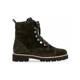 Gabor Chunky Stile Militare Stile Caviglia Stivali - Babs 31.801