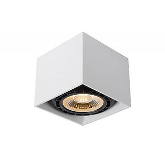 Lucide Fedler Moderne Sorez Aluminium weiß Decke Spot Licht