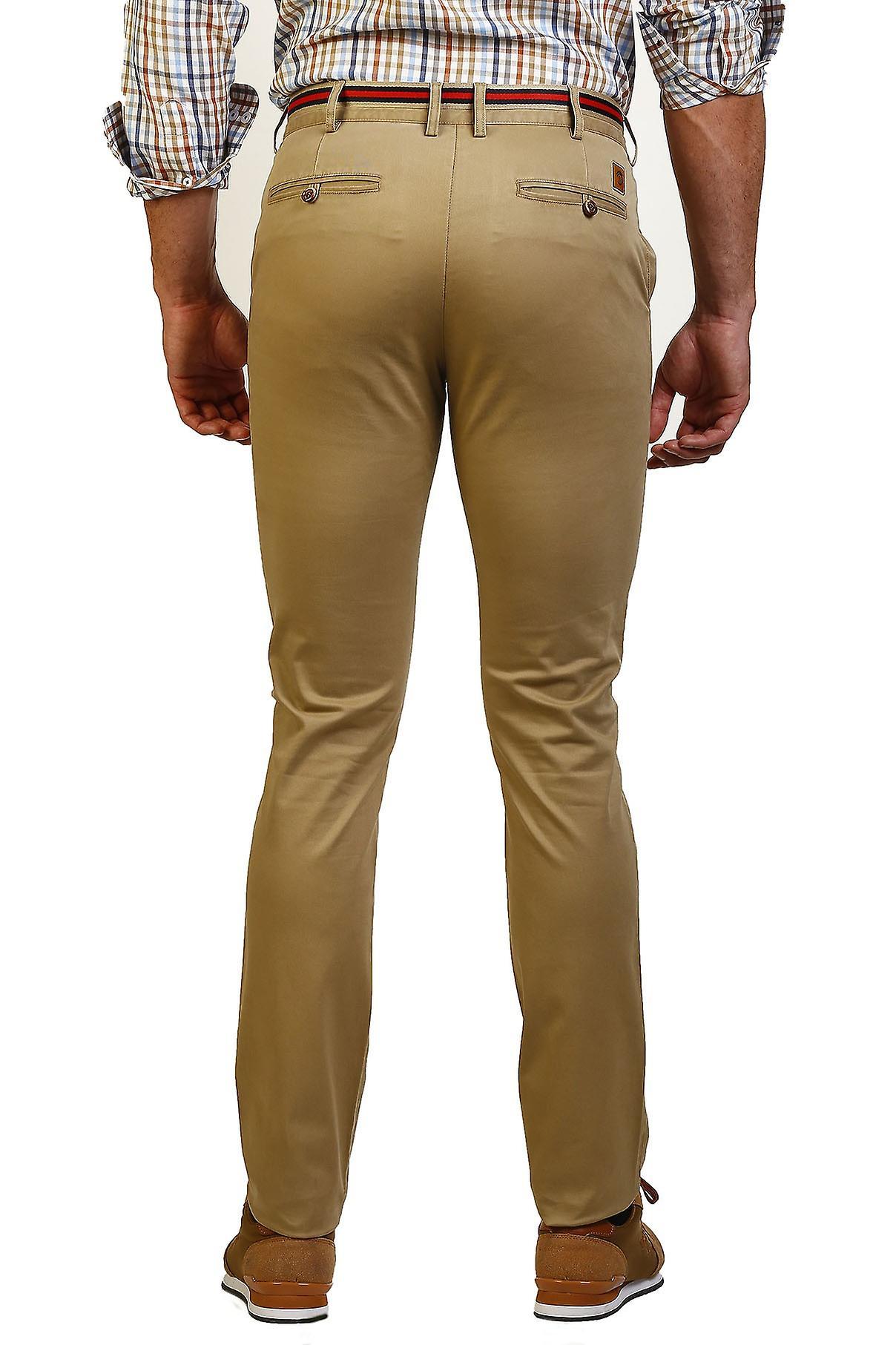 Pantalon Homme Le Temps de Bocha JI1PPOLO-130-Camel 711