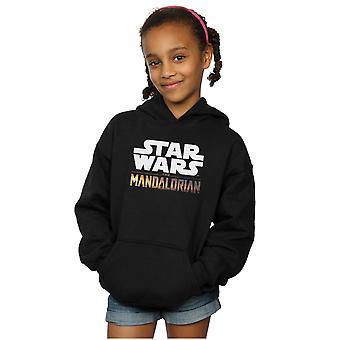 Star Wars Girls The Mandalorian Logo Hoodie