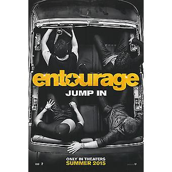 Entourage (2015) original filme poster duplo face Advance estilo B