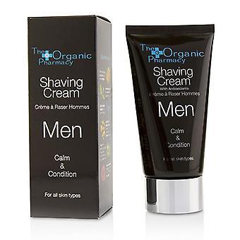 The Organic Pharmacy Men Shaving Cream - Calm & Condition - 75ml/2.5oz
