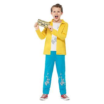 Chłopcy Roald Dahl Charlie Bucket Fancy Dress kostium