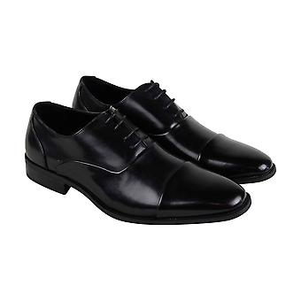 Unlisted by Kenneth Cole Design 303031 Mens Black Dress Oxfords Shoes