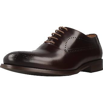 Angel Infantes Zapatos De Vestir 11092a Color Antilope