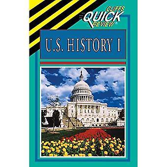 USA historia: BK. 1 (Cliffs Quick Review)