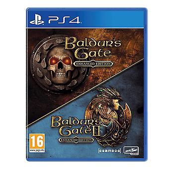 Baldur ' s gate Enhanced Edition I & II PS4 spill