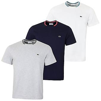 Lacoste herr smidig Jersey T-shirt