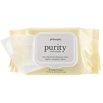 Philosophy Purity Made Simple One Step Facial Cleansing Cloths (30 Cloths)