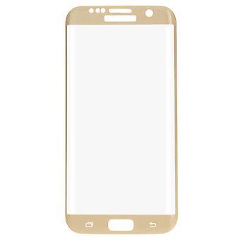 Samsung Galaxy S7 3D Panzer Glas Folie Display Schutzfolie Hüllen Case Gold