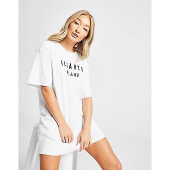 Nuova Il Sarto Donna's T-Shirt Abito Bianco
